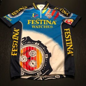 Cycling Jersey FESTINA WATCHES Vintage Medium